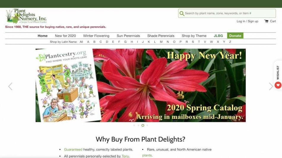 アガベの輸入先、Plant Delightsの紹介
