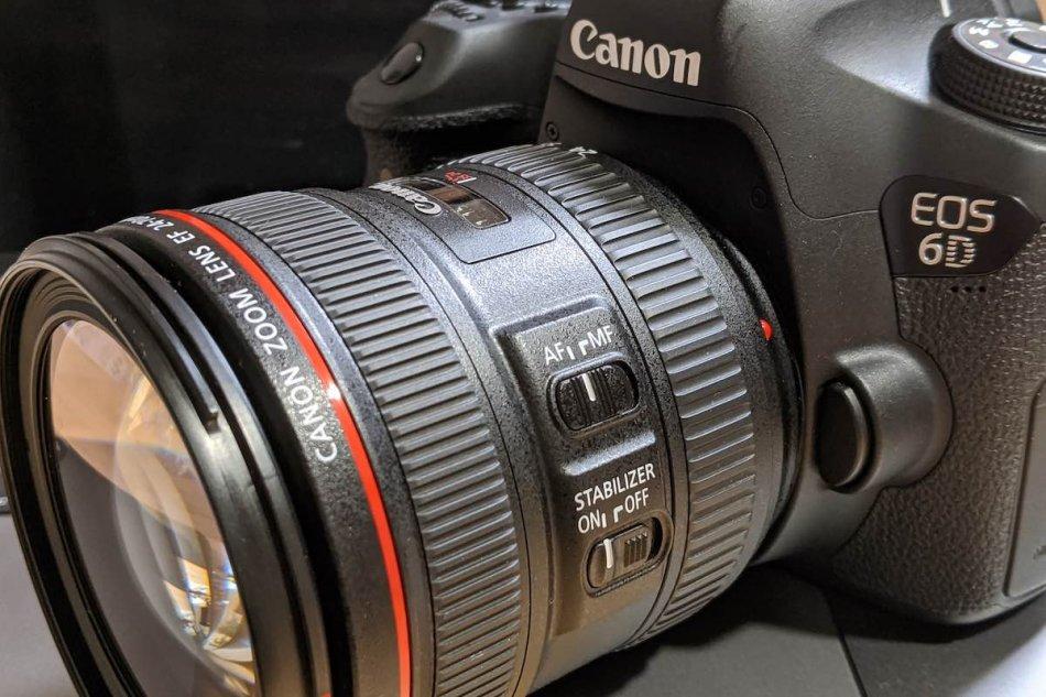 EOS 6D + EF24-70mm F4L IS USMの画像