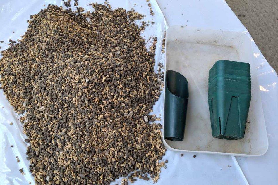 パキポディウム・恵比寿笑いの実生に利用した用土