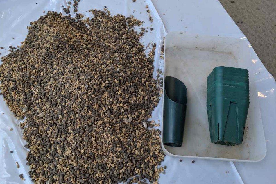 パキポディウムの実生のための用土作り