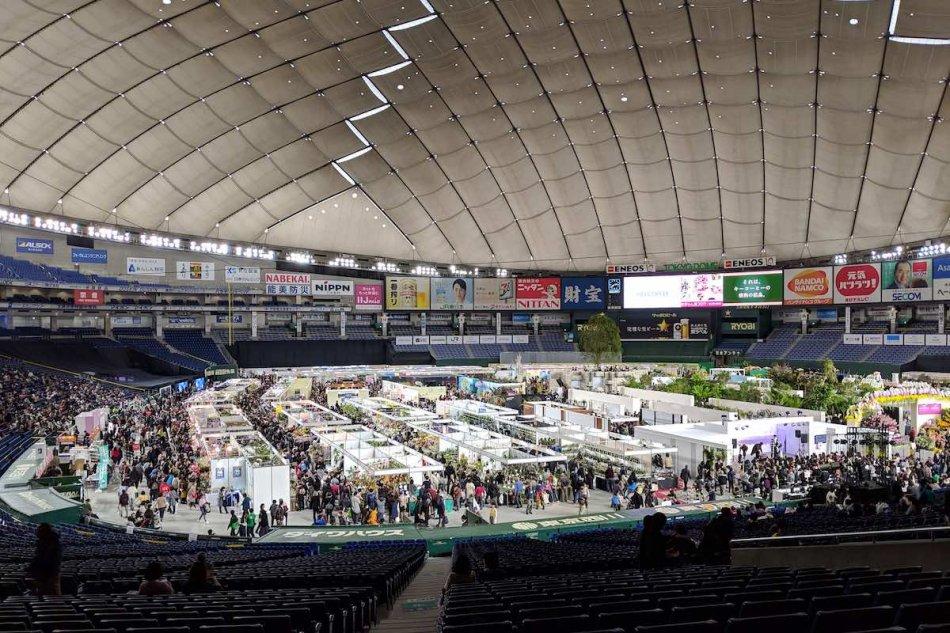 世界のらん展2019の様子。東京ドーム