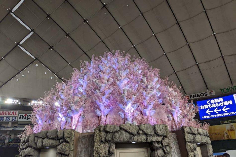 世界のらん展2020、シンボルモニュメント「桜蘭」