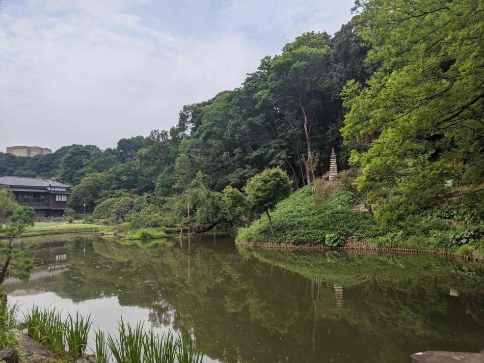 肥後細川庭園のビューポイントその3