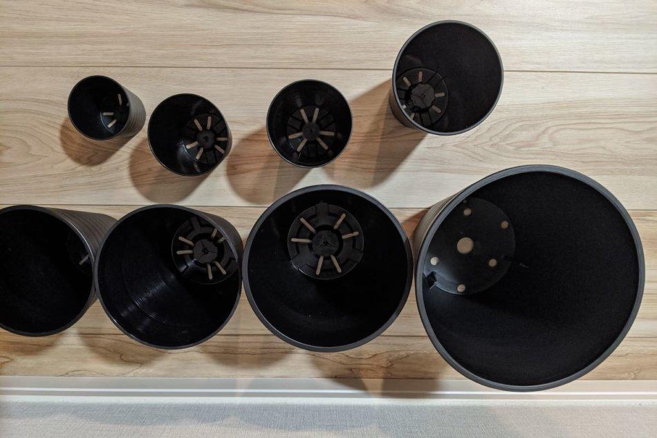 セラアート(長鉢)の鉢底