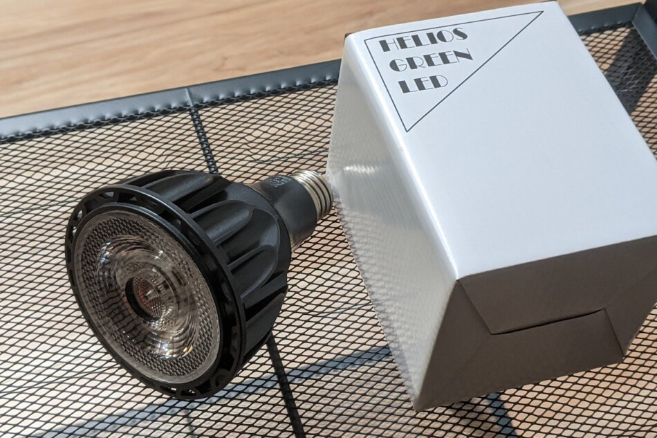 Helios Green LED HG24(ヘリオスグリーンLED)の外観