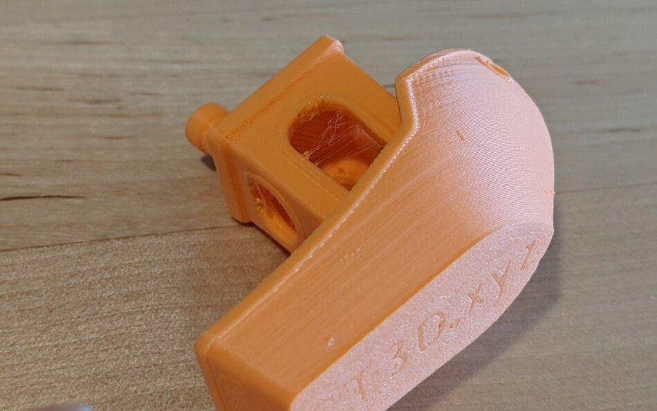 OVERTURE MATTE PLA Orange(オレンジ) 3DBenchy 2