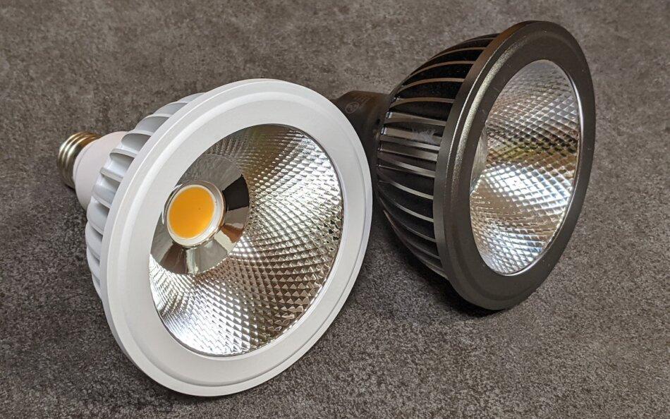 AMATERAS LED 20WとTSUKUYOMI LED 20Wの外観比較